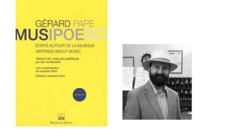 Leopoldo Siano presenta MusiPoéSci di Gerard Pape