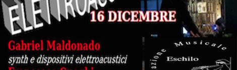 Elettroacustico Roma 16 dicembre 2017